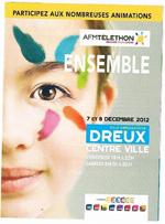 Téléthon à DREUX le 7 et 8 Décembre 2012